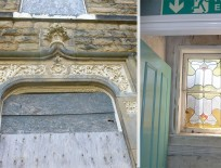 Some of the original features of our beautiful building.