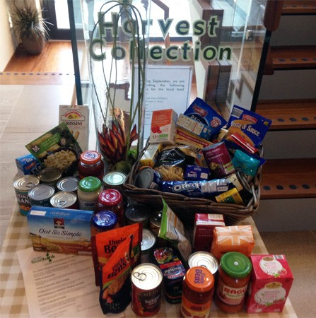 Harvest Festival: Collecting For Those in Need | 22 Street Lane Nursery, Leeds