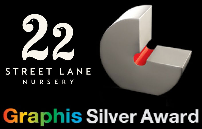 Silver Award for 22 Street Lane Nursery Logo | 22 Street Lane Nursery, Leeds