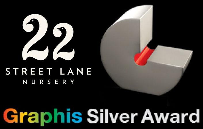Silver Award for 22 Street Lane Nursery Logo | 22 Street Lane Nursery, Leeds