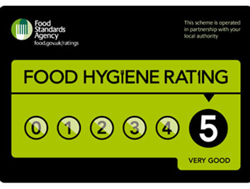 Awarded 5* Rating - Food Hygiene Rating | 22 Street Lane Nursery, Leeds