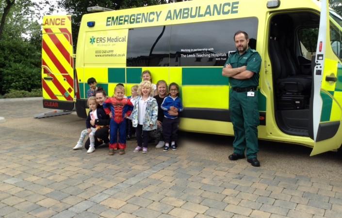 Ambulance Service visit at 22 Street Lane Nursery | 22 Street Lane Nursery, Leeds