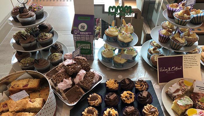 22 Street Lane Macmillan Bake Sale 2019