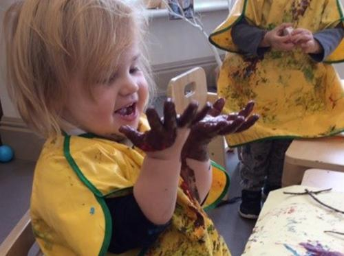 Messy Play | 22 Street Lane Nursery, Leeds