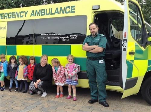 Ambulance Service visit at 22 Street Lane Nursery   22 Street Lane Nursery, Leeds
