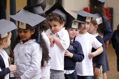 Graduation Day, Class of 2017 Swans   22 Street Lane Nursery, Leeds