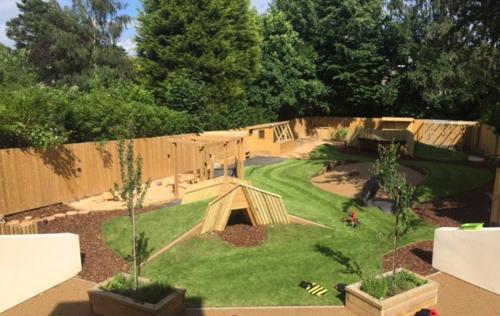 Our Outstanding Garden   22 Street Lane Nursery, Leeds
